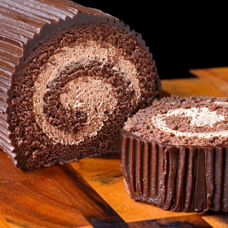 Double Chocolate Rolls Crop