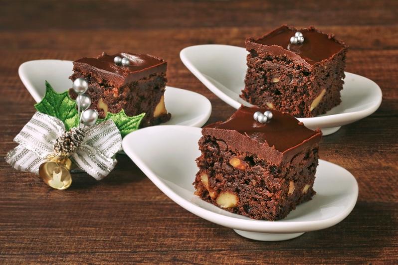 Fudgy Walnut Brownies