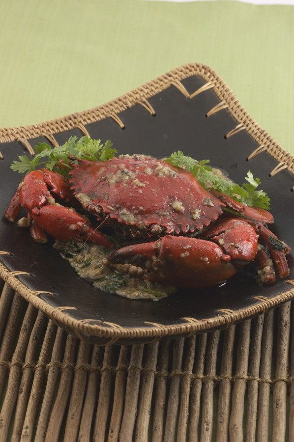 Garlic Crabs