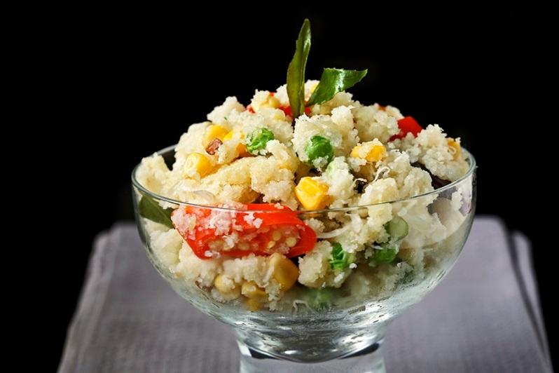 Vegetable Uppuma