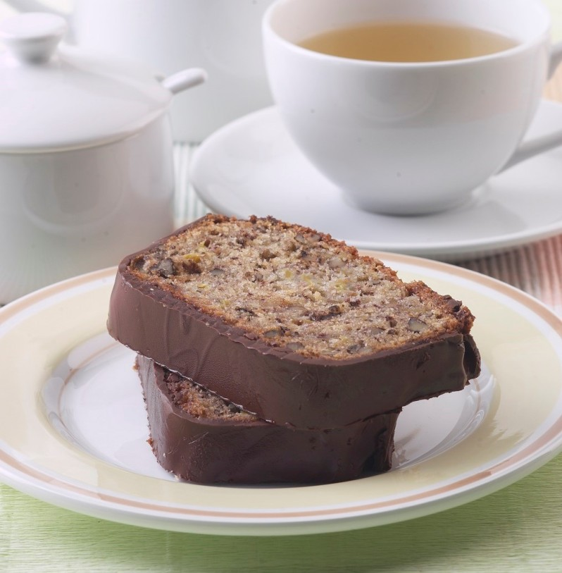Banana and chocolate cake (2)