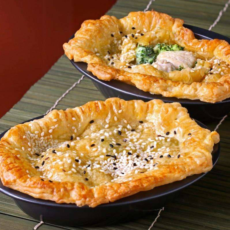 Green Chicken Pie Crop