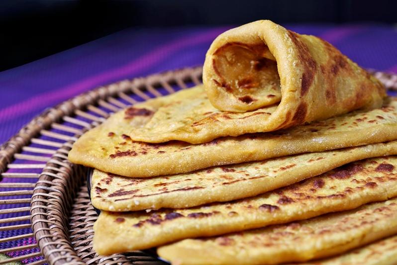 Puran Poli (Sweet Chapatti)