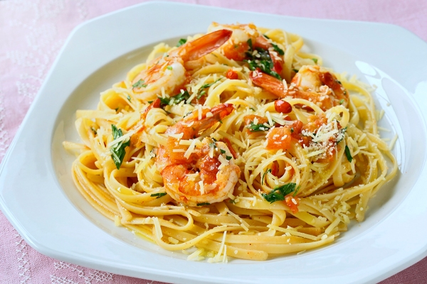 chilli-prawn-linguine
