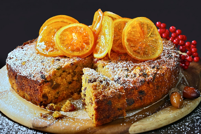 fruit-cake-with-orange